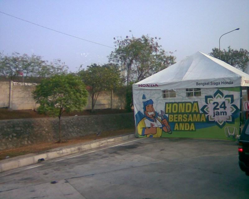 tenda Honda