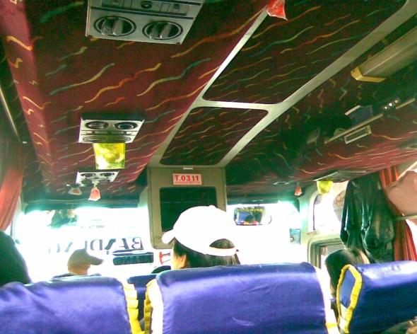 bagian dalam bis